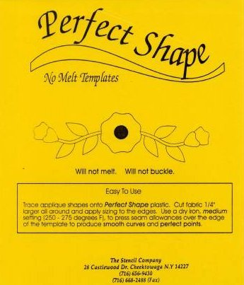 Perfect Shape Plastic Template Sheet