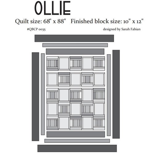 Cutie Pattern Ollie QBCP-0035