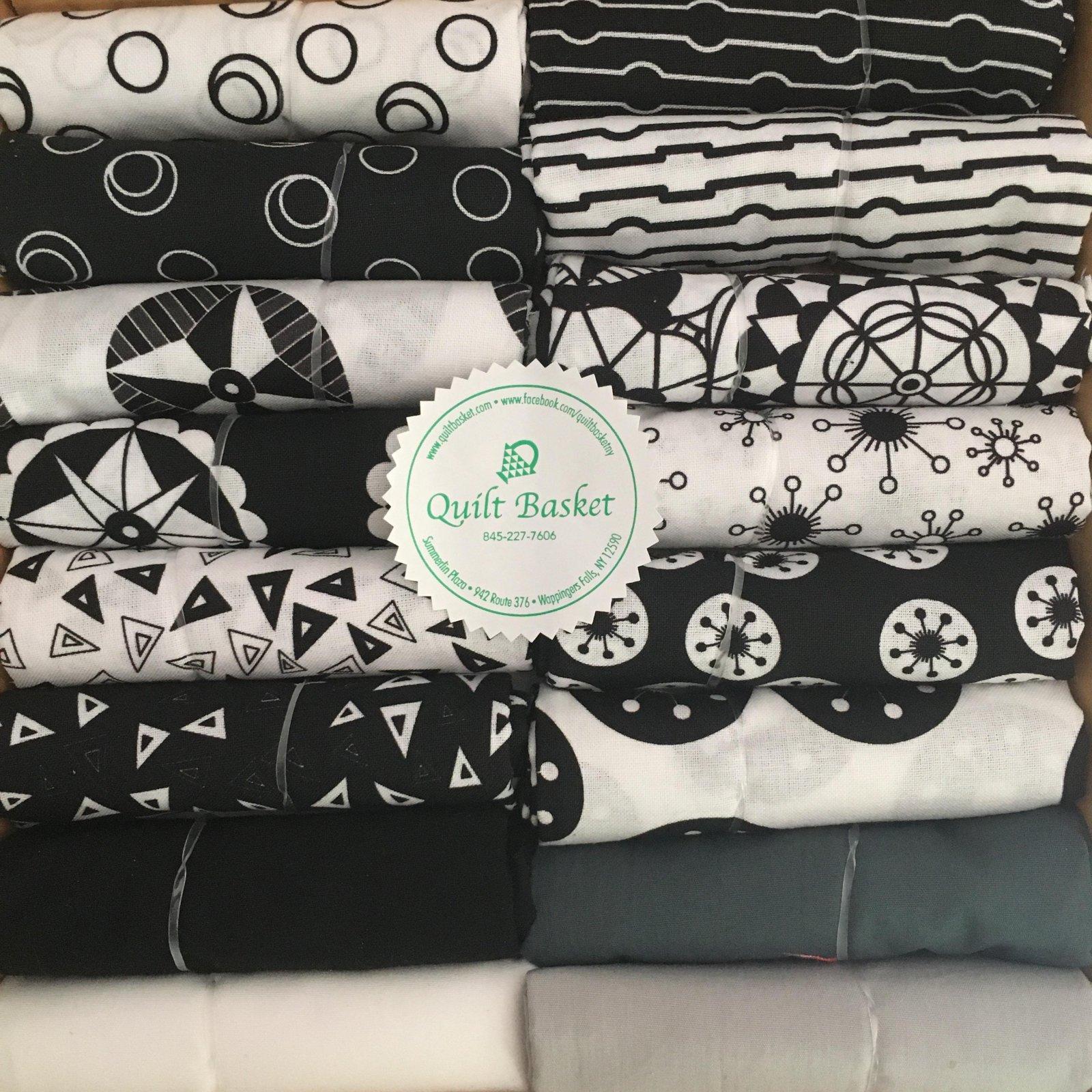 Cutie Collection Island Batik Suite B Opposites Attract QBCC-0214