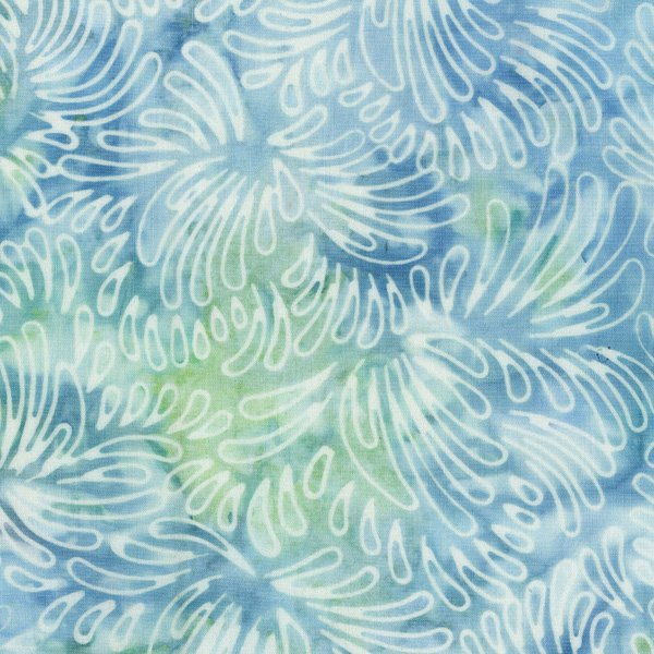 RJR Malam Batik VI Petals Pale Blue Lights 3626-001