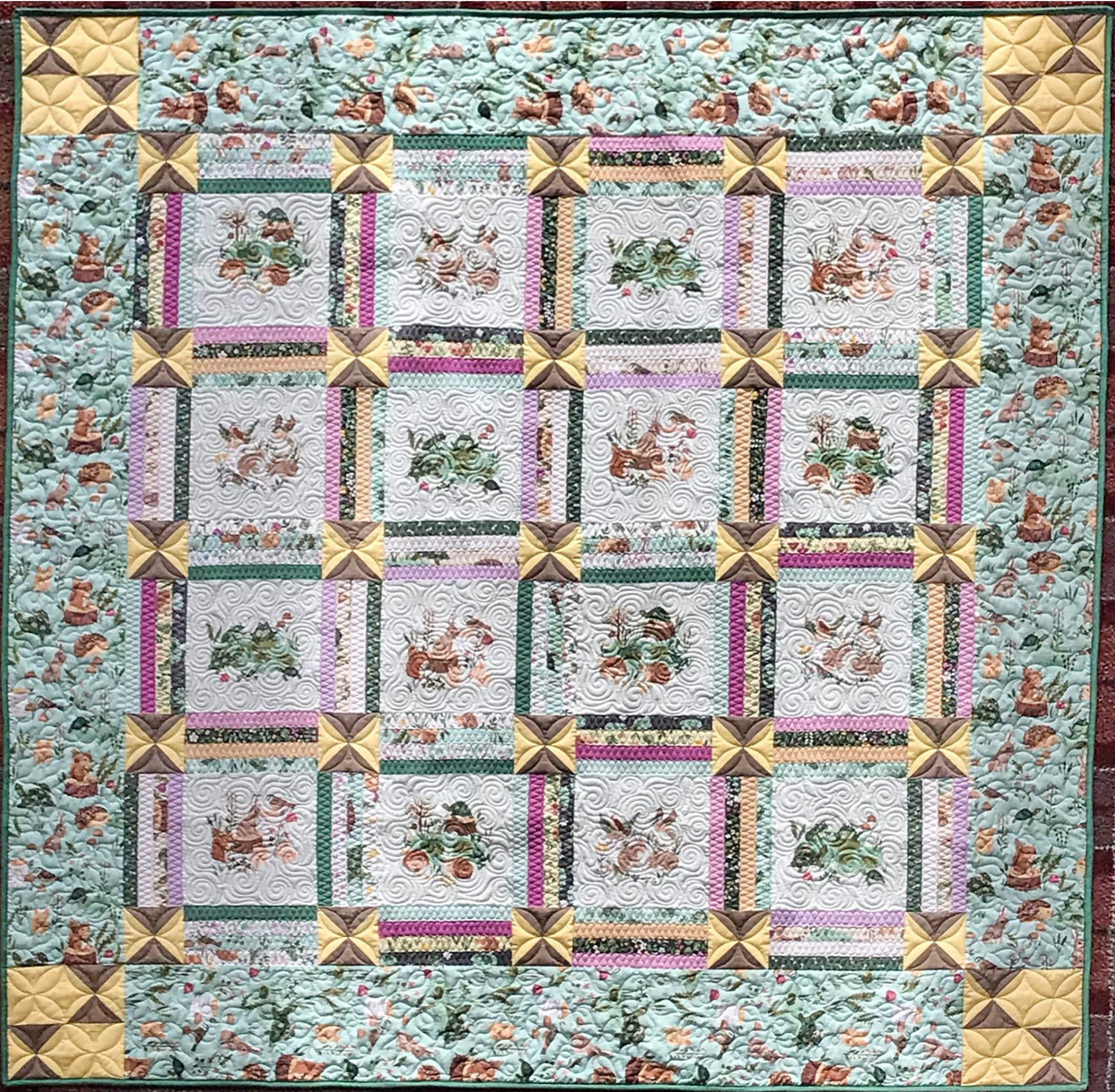 Quilt Basket Picnic Patch Clothworks Quilt Kit