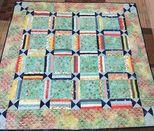Quilt Basket Picnic Patch Quilt Kit