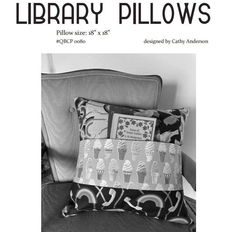 Cutie Pattern Library Pillows QBCP-0080