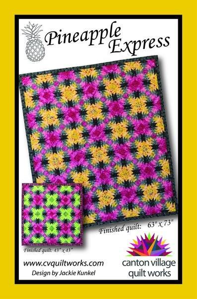 Pineapple Express Quilt Kit Green Version Large