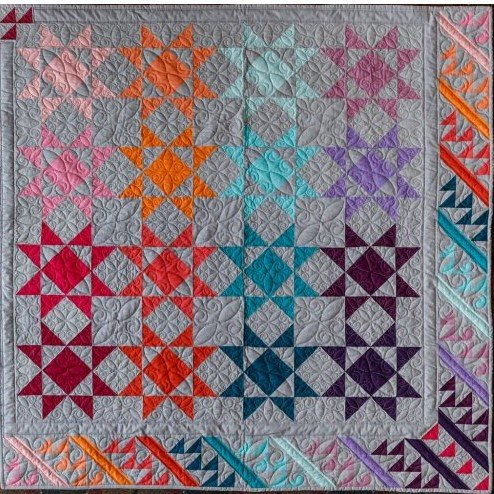 Quilt Basket Polaris Quilt Kit