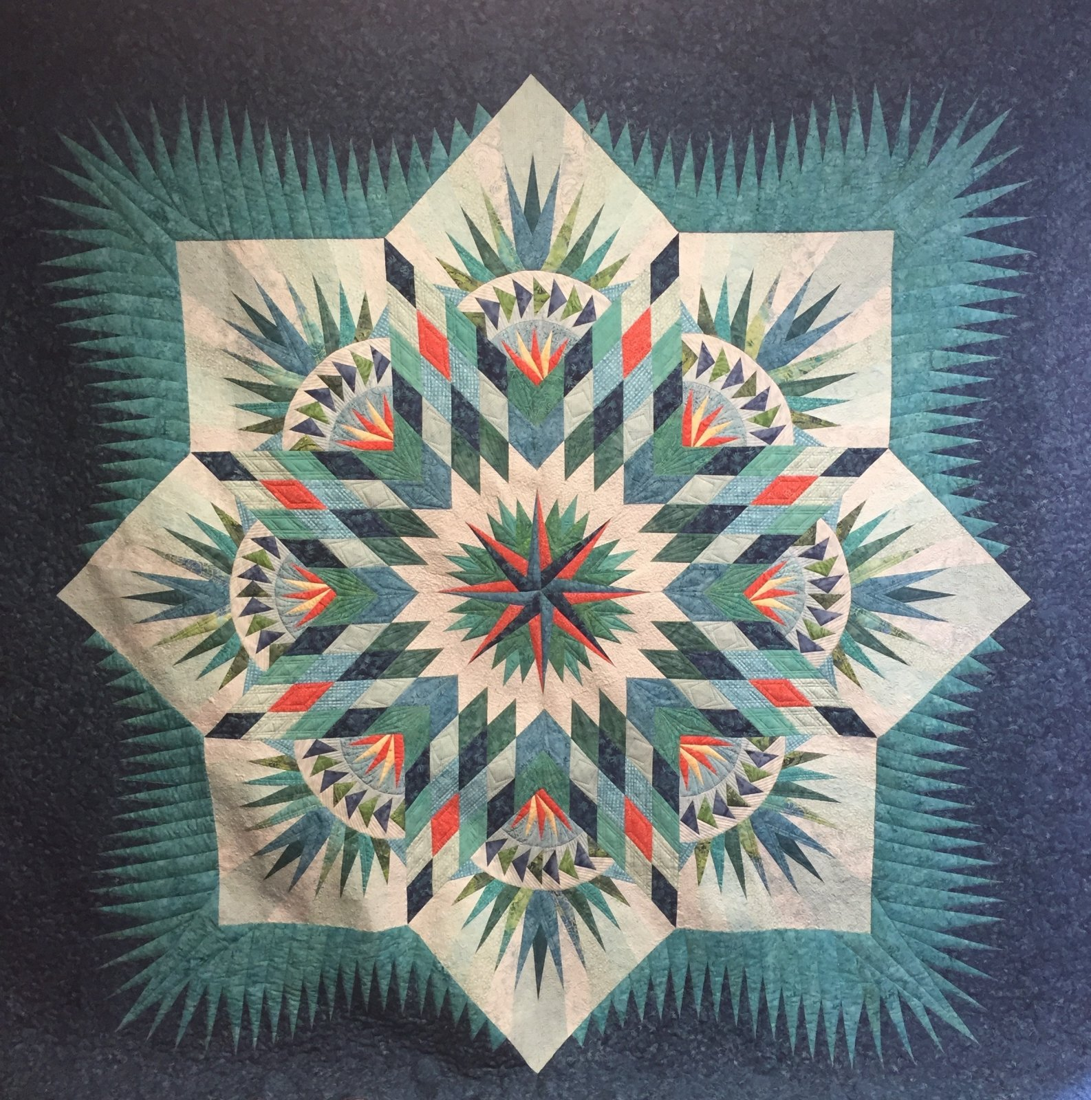Quiltworx Prairie Star Quilt Kit (Includes Pattern)