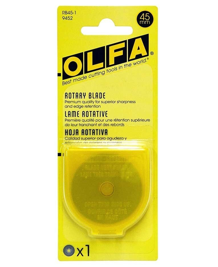 Olfa 45mm Replacement Rotary Blade 1pk