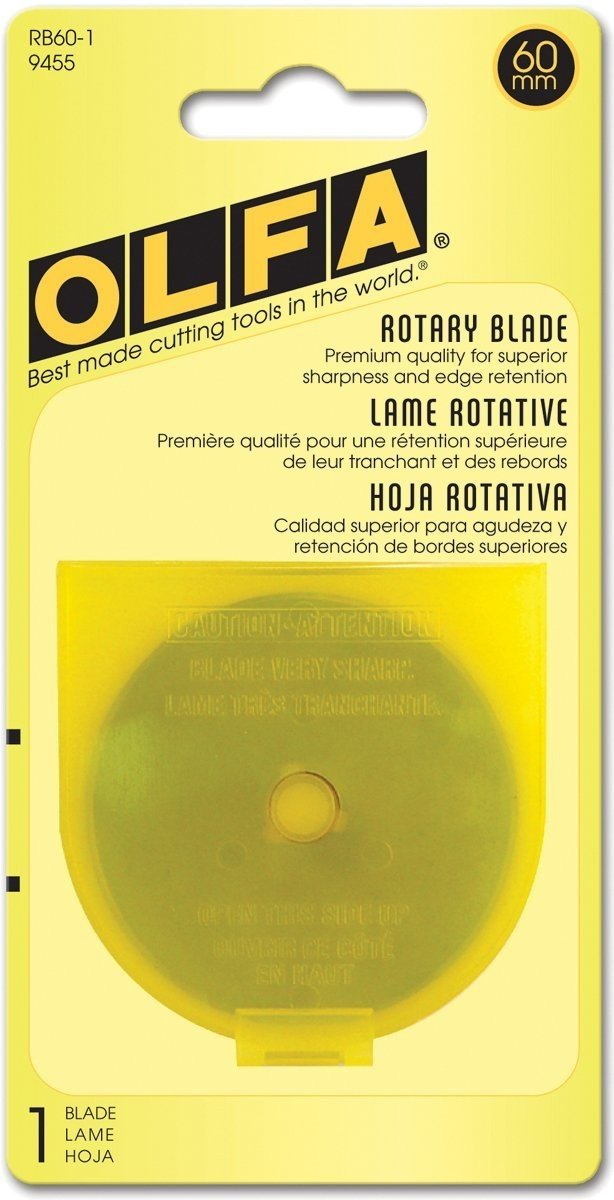 Olfa 60mm Replacement Rotary Blade 1pk