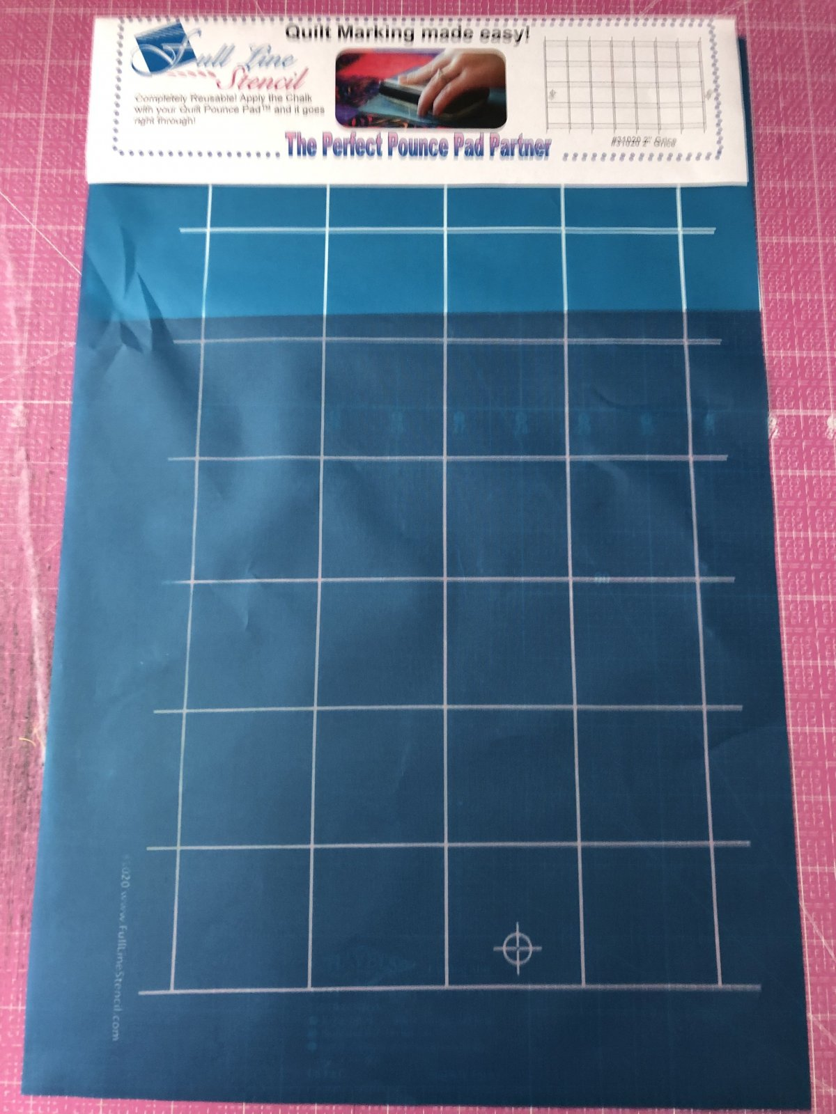 Full Line Stencil 2 Grid Debby Brown Quilts 31020
