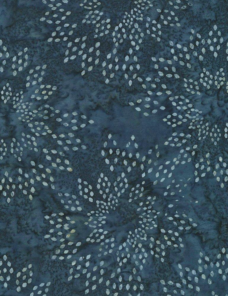 Timeless Treasures Montana Sapphire Mini Collection Tonga-B6165-Navy