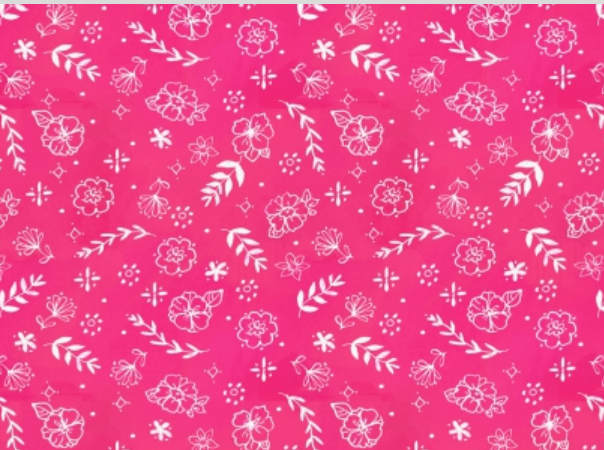 Dear Stella Spring Theory Flower Stamp Rose Stella-DAW1098-Rose