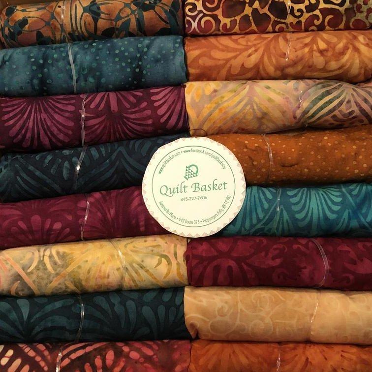 Cutie Collection Island Batik Sunset Plumes QBCC-0211