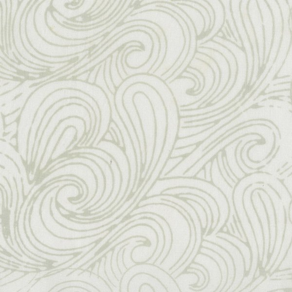 RJR Malam Batik VI Swirl Off White Lights 3627-006