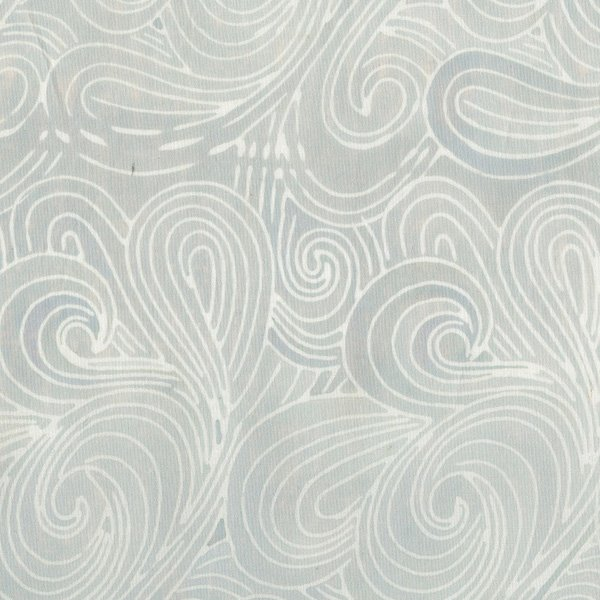 RJR Malam Batik VI Swirl Pale Gray Lights 3627-005