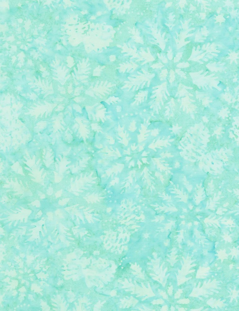 Timeless Treasures Wintry Mix Batik Tonga-B4932-Aruba