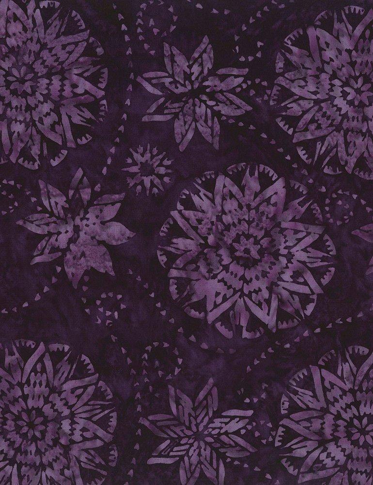 Timeless Treasures Amethyst Tonga B6168 Purple