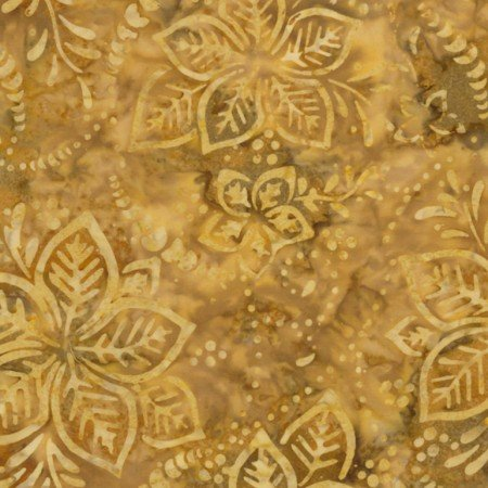 Timeless Treasures Gold Dust Mini Collection Tonga-B6874-Flax