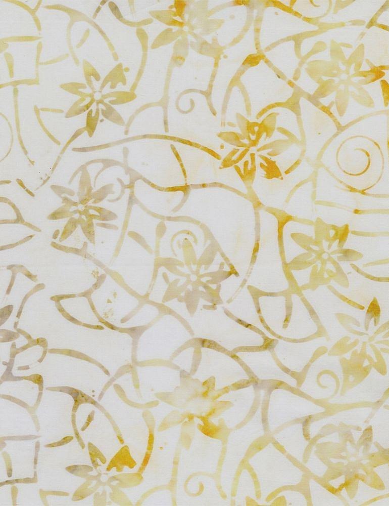 Timeless Treasures Basil Mini Collection TONGA-B8167-BUTTER