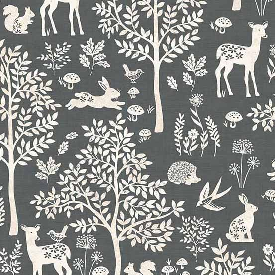 Andover Woodland by Makower UK Forest TP-2059-S