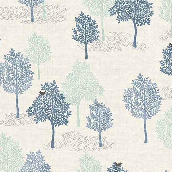 Andover Woodland by Makower UK Trees TP-2062-B