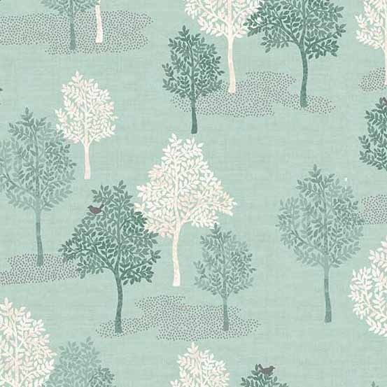 Andover Woodland by Makower UK Trees TP-2062-T