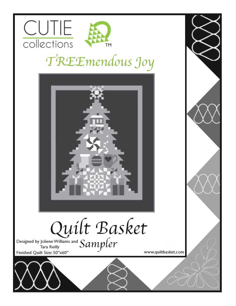 Cutie Pattern Sampler TreeMendous Joy QBSAM-0003
