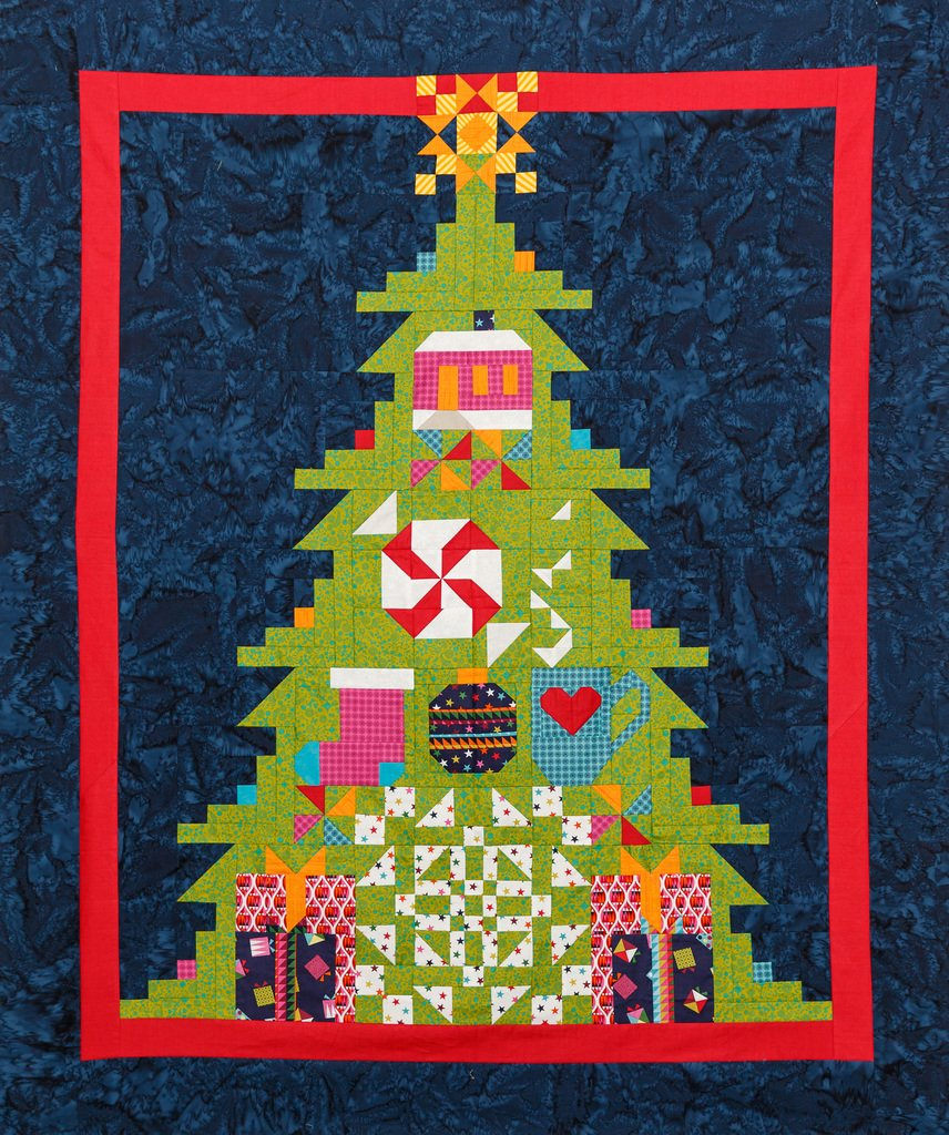 Quilt Basket TreeMendous Joy Wrap it Up Quilt Kit