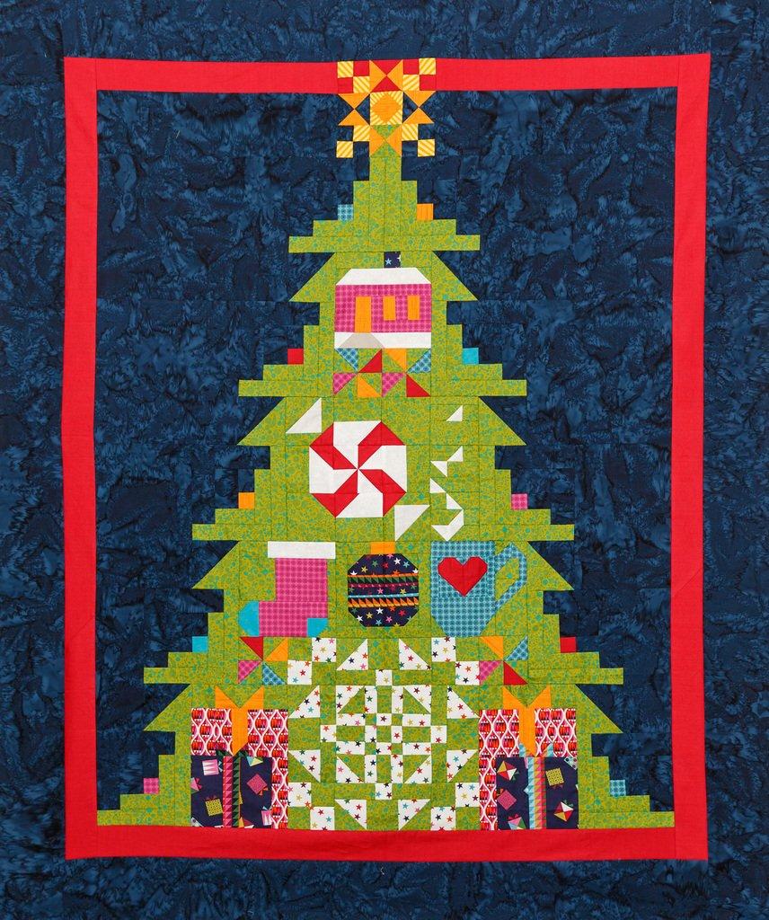 Quilt Basket TreeMendous Joy Wrap it Up Quilt Kit