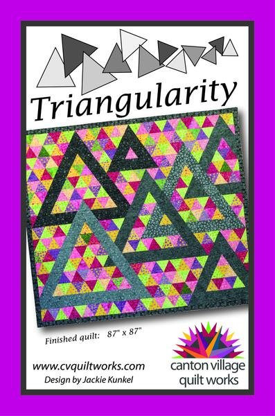 Triangularity Quilt Kit