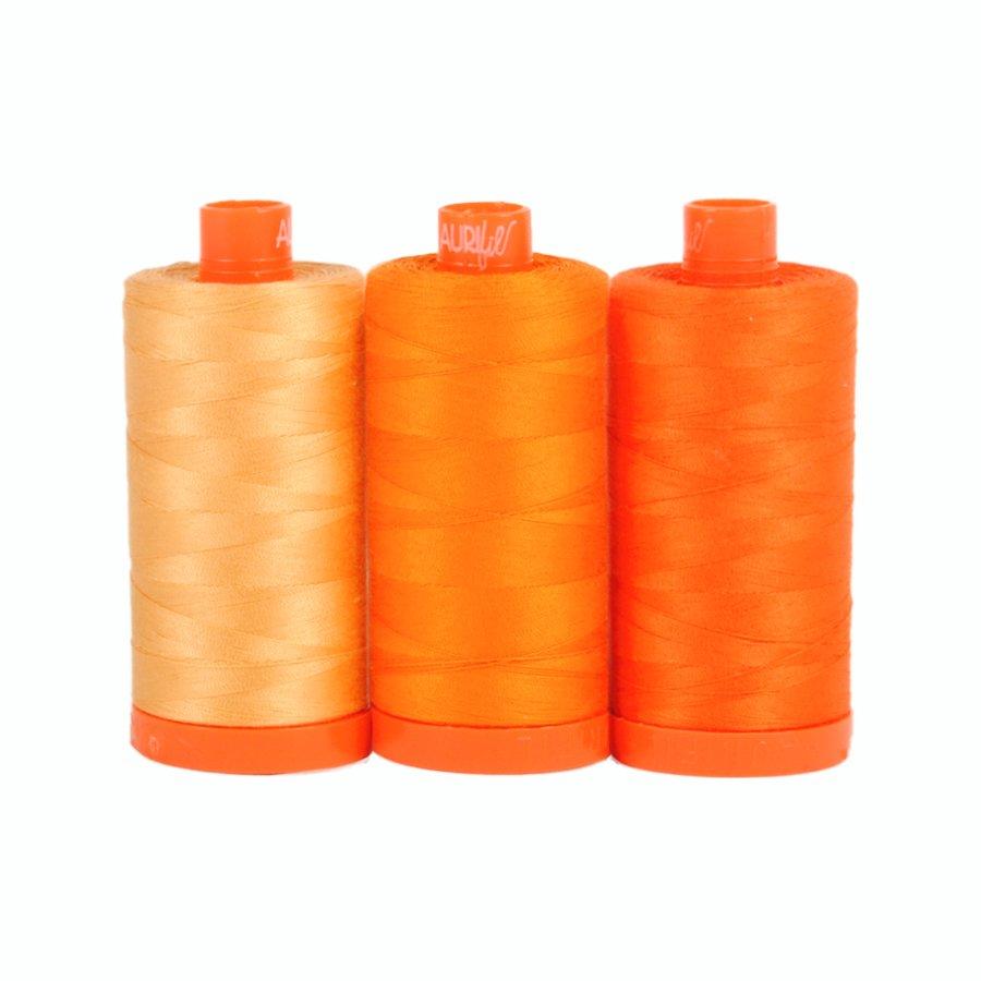 July Aurifil Thread Club - Tuscany Orange