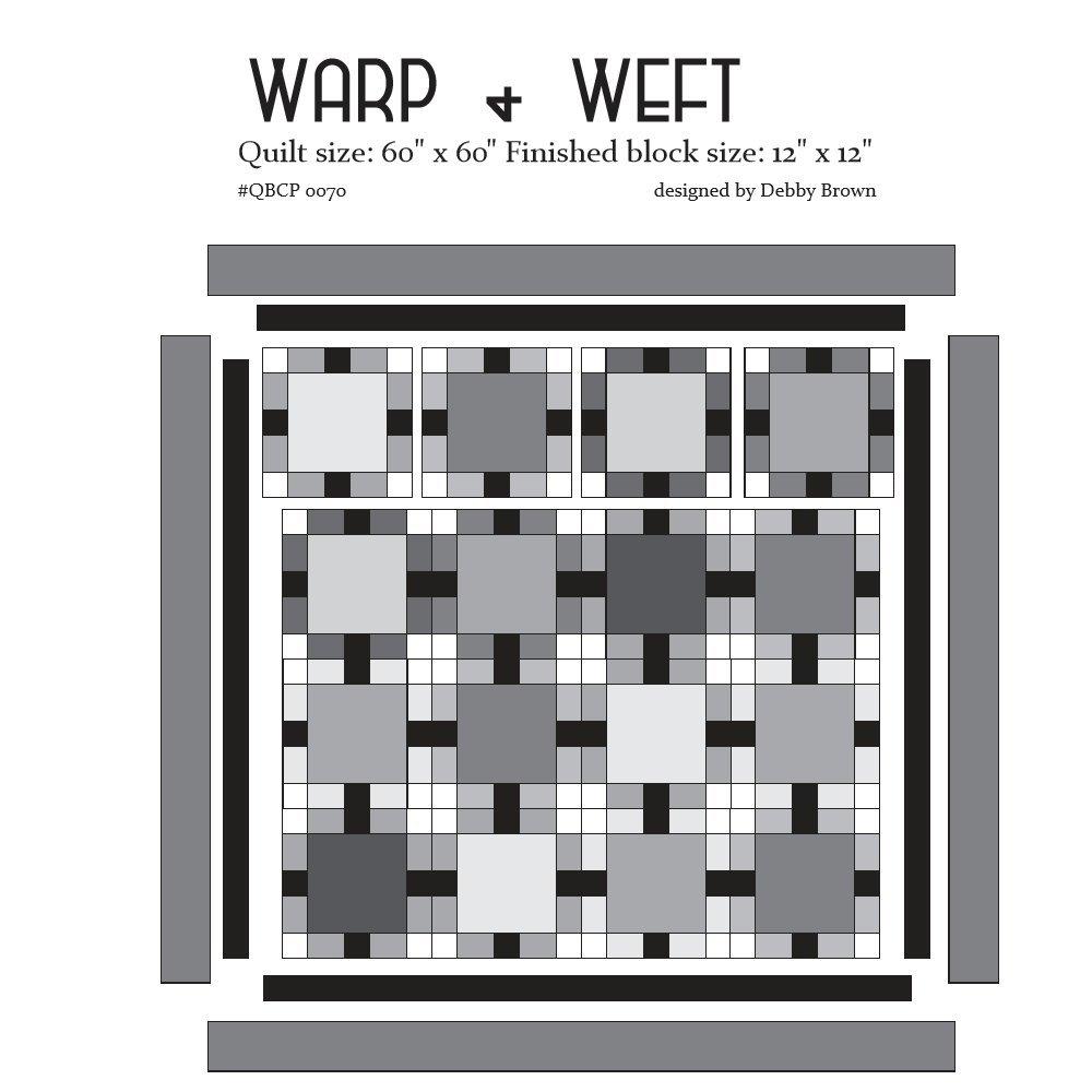 Cutie Pattern Warp + Weft QBCP-0070