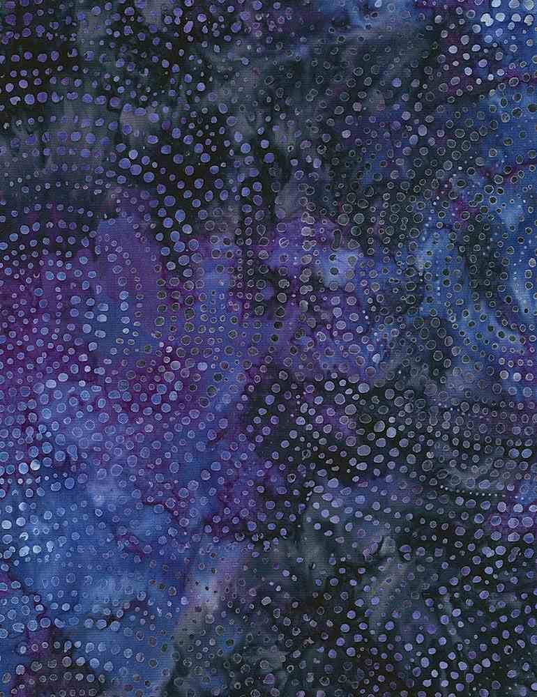 Timeless Treasures Dotty Spiral 108 inch XTONGA-B2336-GALAXY