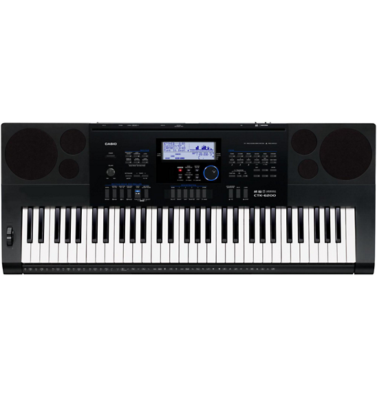 Casio Portable Keyboard CTK-6200