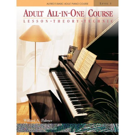 Alfred's Basic Adult Piano Course: All In One - Book 1