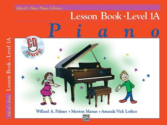 Alfred's Basic Piano Library Lesson Book - Level 1A
