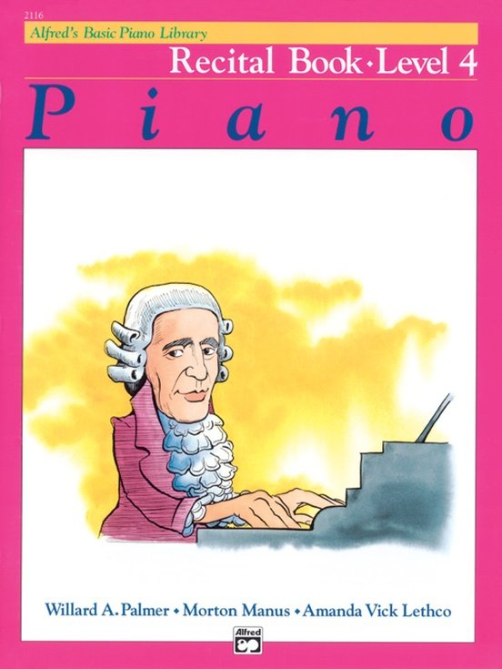 Alfred's Basic Piano Library Recital Book- Level 4