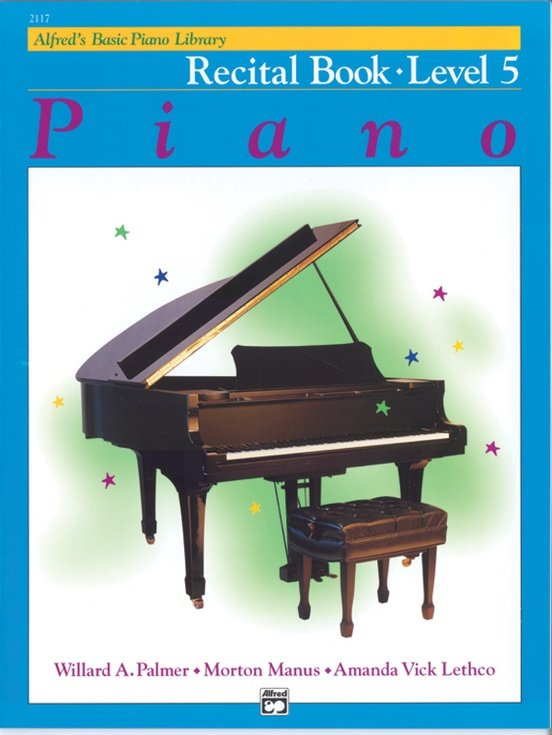 Alfred's Basic Piano Library Recital Book- Level 5