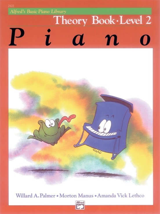 Alfred's Basic Piano Library Theory Book- Level 2