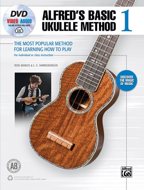 Alfred's Basic Ukulele Method 1 - DVD and Online Video/Audio Access