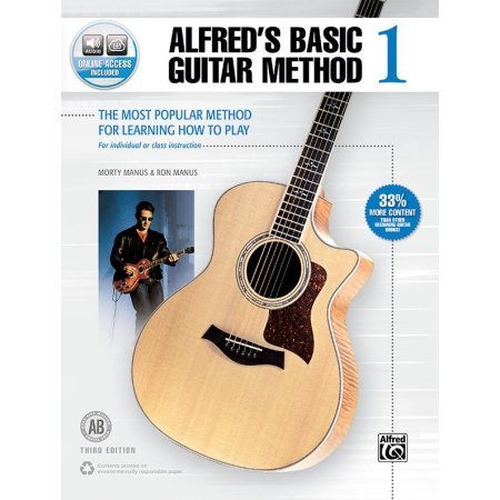 Alfred's Basic Guitar Method 1 (w/ Audio Access)