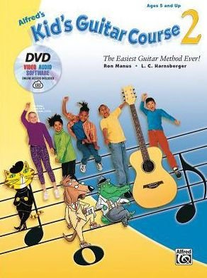 Alfred's Kid's Guitar Course 2 w/ DVD