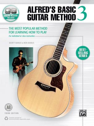 Alfred's Basic Guitar Method 3 - Online Audio Access