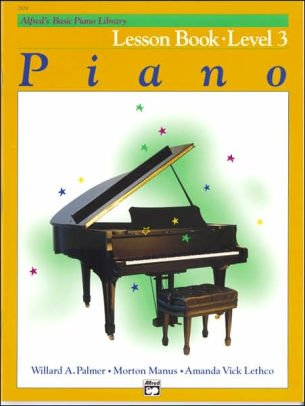 Alfred's Basic Piano Library Lesson Book- Level 3