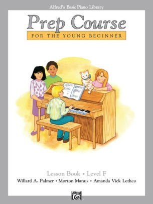 Alfred's Basic Piano Library Prep Course Lesson Book- Level F