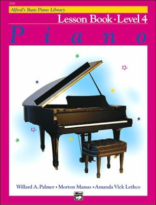 Alfred's Basic Piano Library Lesson Book- Level 4