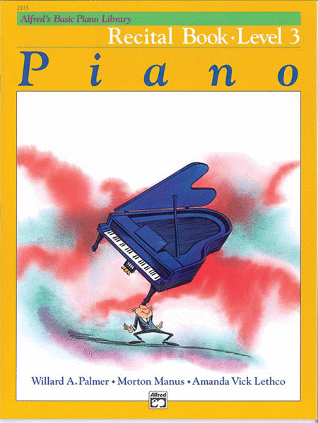 Alfred's Basic Piano Library Recital Book- Level 3