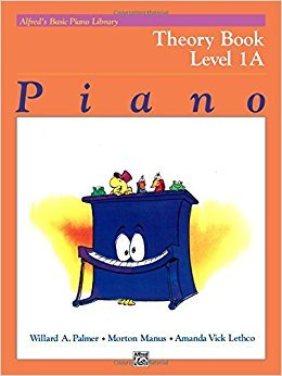 Alfred's Basic Piano Library Theory Book- Level 1A