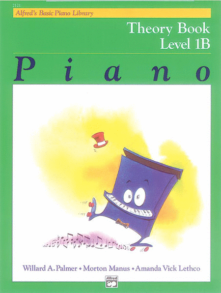 Alfred's Basic Piano Library Theory Book- Level 1B