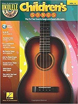 Children's Songs - Ukulele Play Along (w/ CD)