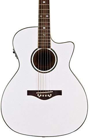 Daisy Rock Wildwood Acoustic/Electric - Pearl White